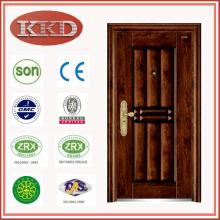 Diseño de lujo, puerta de acero de la seguridad KKD-312 con final de transferencia de vacío, de China