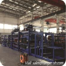 High quality EPS z-lock sandwich panel making machine/EPS Z-lock panel roll forming machine line