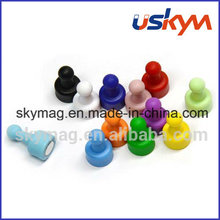 Custom Colourful Magnetic Push Pins Whiteboard Magnet