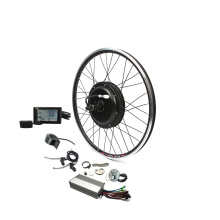 China Manufacturer Free Shipping Electric bike conversion Kit 1500W 48V Front wheel hub motor ebike kits with SW900 display