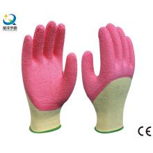 Latex 3/4 Coated, Crinkle Finish Work Glove