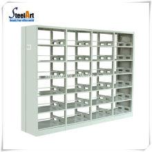 School furniture steel bookshelf price library acrylic bookcase durable book shelf