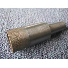 fábrica abastecimento 20mm sinterizada brocas diamantadas para perfuração de vidro