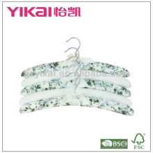 New hot selling cotton facbric clothes hanger