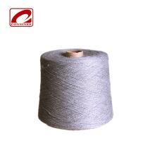 Hilo de punto teñido en mezcla de lana de algodón