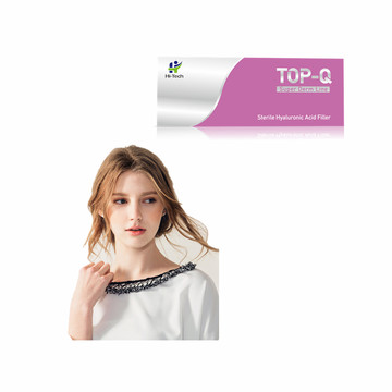 TOP-Q Skin Rajeunissement BDDE Gel d'acide hyaluronique Dermal Filler Injection Gel 2ML