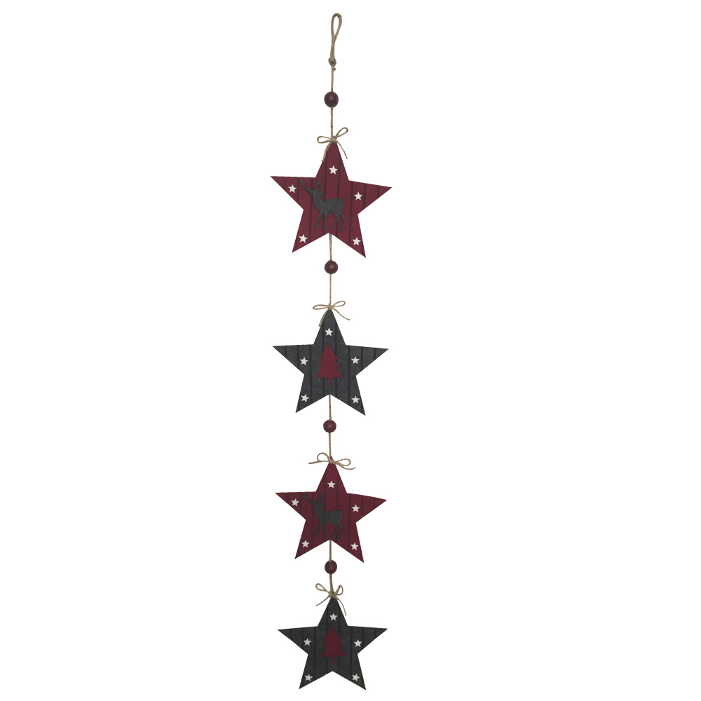 Christmas Star Shape Wall Sign