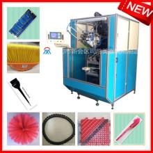 máquina de cepillado de alta velocidad automática del penacho / máquina de la inmersión para la venta / máquina del cepillo del alambre para la madera