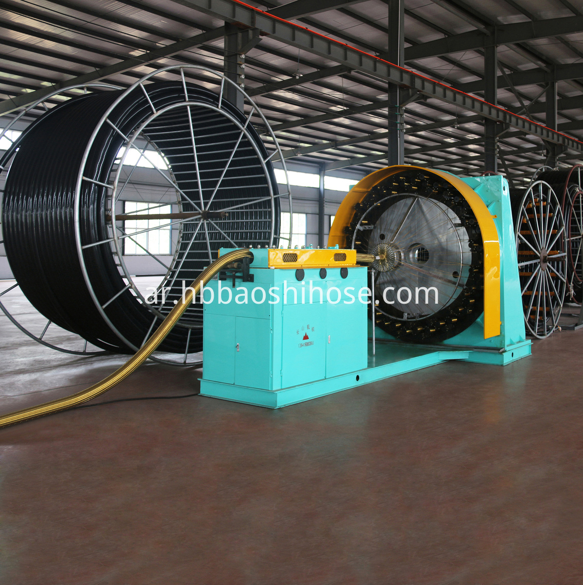 UHMWPE Braided Composite Pipeline