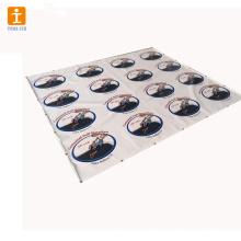 Autocolantes gráficos de piso removível de alta qualidade