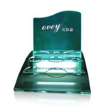 UV-Druck Acryl-Arbeitsplatte Display-Stände Kosmetische Display-Stände