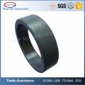 Imanes de anillo de ferrita magnetizados diametralmente