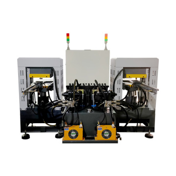easy to operate double heads silicone hydraulic machine
