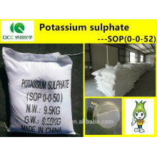 NPK/Fertilizer/SOP(0-0-52)/Potassium sulphate/Sulphate of potash,high quality -lq
