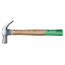 2015 hot sale claw hammer with wooden handle