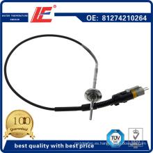 Sensor de temperatura del agua del automóvil / del carro Sensor del sensor de temperatura del refrigerante Sensor del transductor 81274210264 para los camiones del hombre