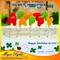 Popular no dripping wax unscented birthday sparkler candles
