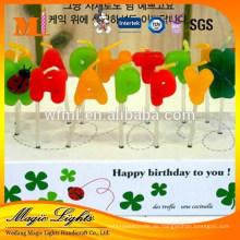 Populäres kein tropfendes Wachs unscented Geburtstagskerzenkerzen