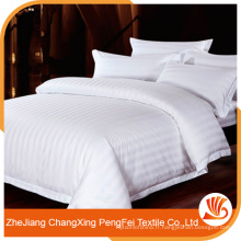 Literie chinoise super king size avec design strié pour hôtel