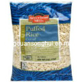 Saco de empacotamento plástico do arroz soprado / saco soprado do empacotamento de alimento