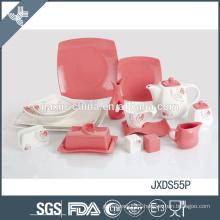unprecedented price with beautiful color fine porcelain tableware