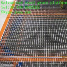 Galvanisierte Stahlgitter-Plattform