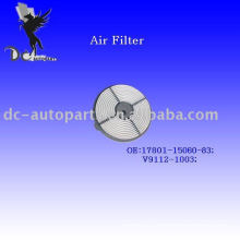 Eco Round Synthetic Fiber Air Filter