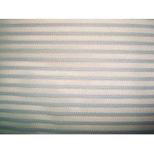 Stripe Mesh Knitting Fabric