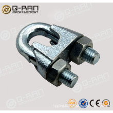 U.S.type wire rope clip galvanized malleable wire rope clip