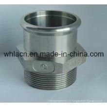 Pièces de rechange de pompe de bâti d'acier inoxydable d'OEM (moulage de précision)