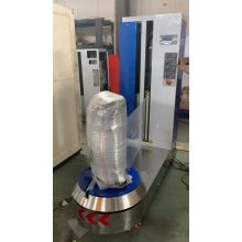 airport luggage wrapping machine with HMI function