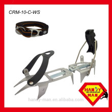 Crampons de tração de gelo híbrido de 10 pontos da CRM-10-C