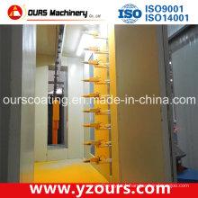 Auto/Manual Electrostatic Powder Coating Spray Line