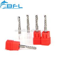 BFL Hartmetall-Einfräser-Schaftfräser für Kunststoff-, Acryl-Schneiden