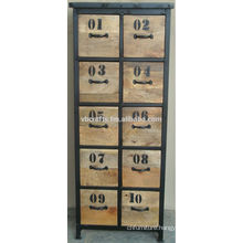 industrial vitnage chest drawer