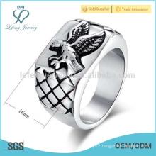 Alibaba online price eagle ring,stainless steel finger ring,ring castings for men