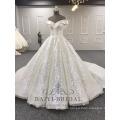 Wholesale V-Neck Shining Lvory Muslim Ball Gown Plus Size 2018 Wedding Dress Alibaba