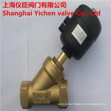 Pneumatic Brass Angle Seat Valve
