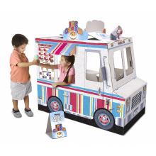 Fun Train Cardboard Playhouse for Children