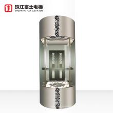 China Fuji Brand High quality manufacturer price sighting see glass elevator