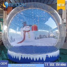 Durable Christmas Decorative Giant Inflatable Human Snow Globes for Sale