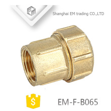 EM-F-B065 copper material spain union female thread compression joint pipe