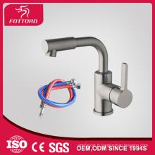 Forme ronde exquis menu déroulant lavabo robinet pivotant spray 23408
