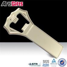Nickel plating tic bottle opener zinc alloy
