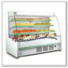 R280 3 Layers Fruit And Vegetable Open Showcase