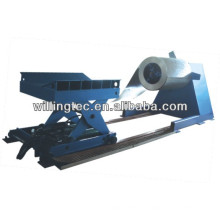 auto hydraulic decoiler with pressing arm