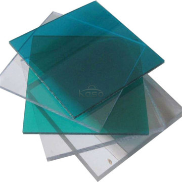 Panel de techo 20 mm Lexan Polycarbonate Sheet Solid