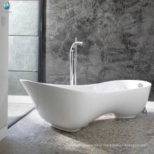Sanitary ware artificial stone soaking hydrotherapy home spa high-heeled shoe bathtub