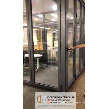 Vancouver aluminium window door hardware folding glass flush door retractable interior doors