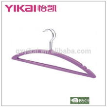 Moon shape rubber lacquer ABS tie/skirt/shirt clothes hanger
